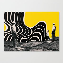 , and they can occur any number of times. Canvas Print