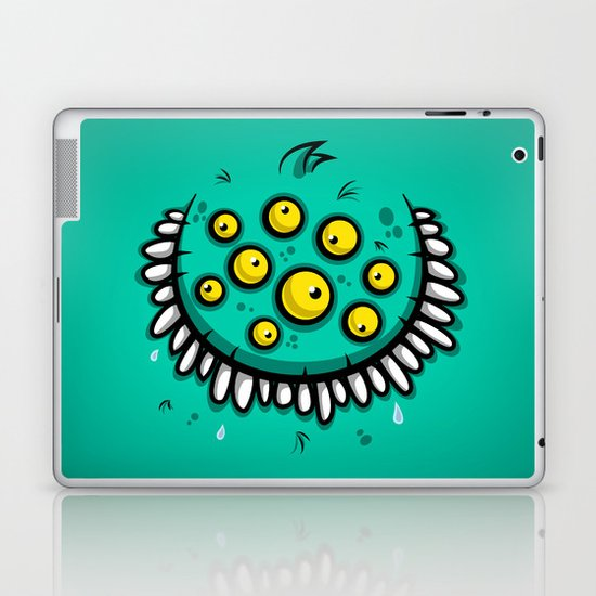 FUNNY EYEBALLS Laptop & iPad Skin