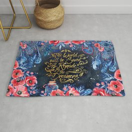 Saved by the Dreamers Rug