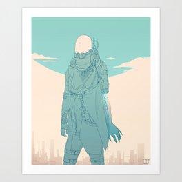 Future drawing Art Print