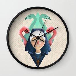 Nun - The Great Beauty Wall Clock