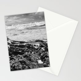 Stormy over Crackington Stationery Cards