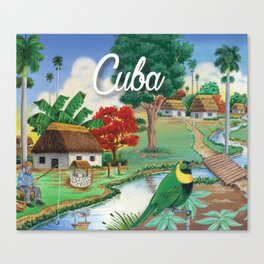 Cuba Scenery 2 Canvas Print