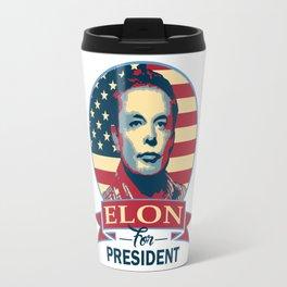 Elon For President Travel Mug