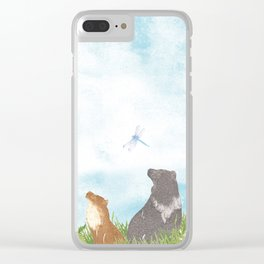 Up above the clouds | Miharu Shirahata Clear iPhone Case
