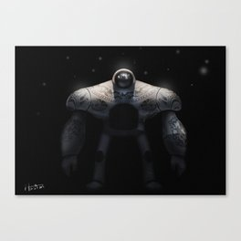 Maori Warrior Canvas Print