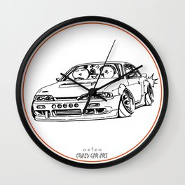 Crazy Car Art 0201 Wall Clock