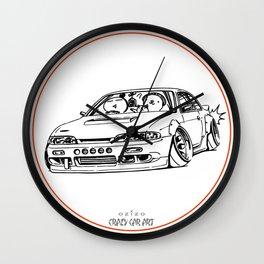 Crazy Car Art 0201 Wall Clock