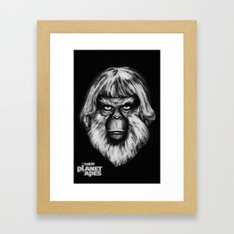 Planet of the Apes - Dr. Zaius Framed Art Print
