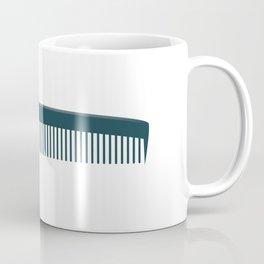Hair Comb Coffee Mug