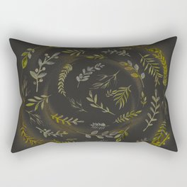 Golden Circle Rectangular Pillow