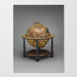 Historical Celestial Globe Photograph (1621) Canvas Print