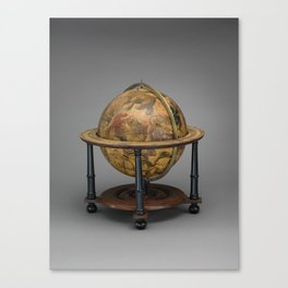 Historical Celestial Globe Photograph (1621) Canvas Print