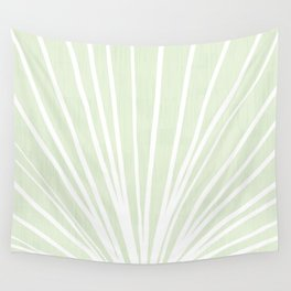 Dandelions in Mint by Friztin Wall Tapestry