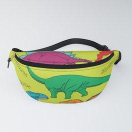 Dinosaur Print - Colors Fanny Pack