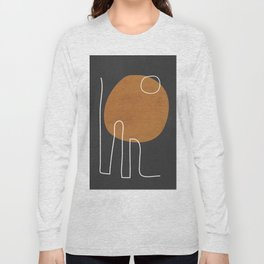 Abstract Art 40 Long Sleeve T-shirt
