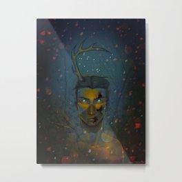 Winterbeest Metal Print