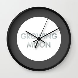 Growing Moon (Celtic) Wall Clock