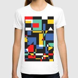 Colorful optical T-shirt