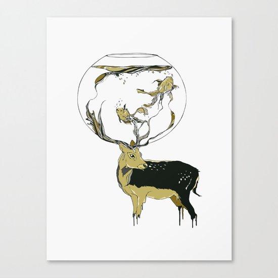 Revolve Canvas Print