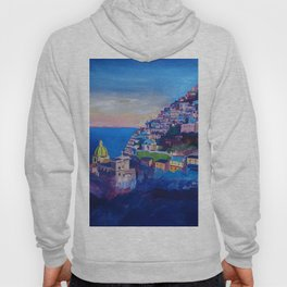 Amazing Amalfi Coast at Sunset in Italy Hoody