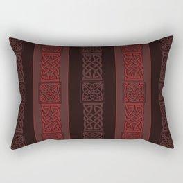 Viking dark red Rectangular Pillow