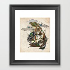 Rap-Unzel Framed Art Print