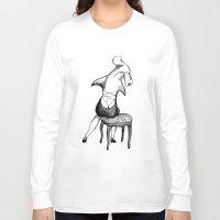 shark Long Sleeve T-shirts featuring Shark by Ilya kutoboy