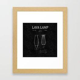 Lava Lamp Patent 2 Framed Art Print