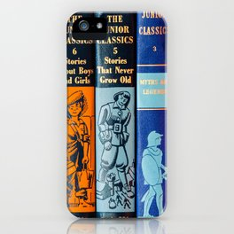 Vintage Children's Books iPhone Case