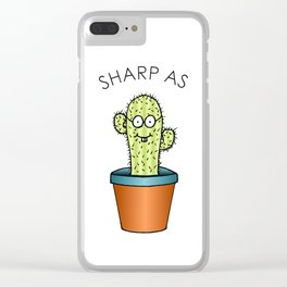Sharp As Clear iPhone Case