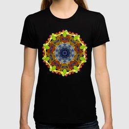 Oriental mandala patter T-shirt