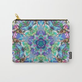 Five Points of Color Abstract Carry-All Pouch