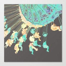 Chroma-Swing Canvas Print