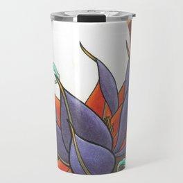 Mech Lotus Moon Travel Mug