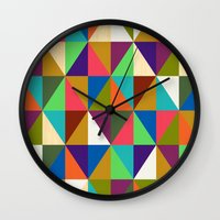 woody Wall Clocks featuring Woody by Bianca Green