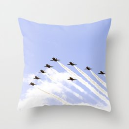 Red 5 Throw Pillow