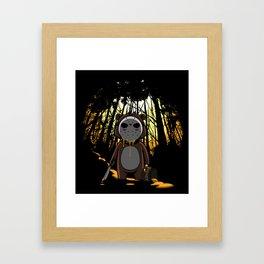 Honey On The 13th Framed Art Print