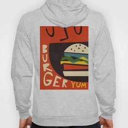 Yum Burger Hoody