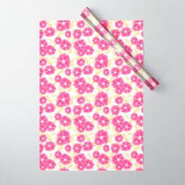 12 Sketched Mini Flowers Wrapping Paper