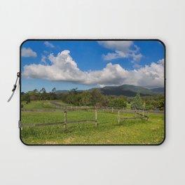 Idyllic rural view Laptop Sleeve