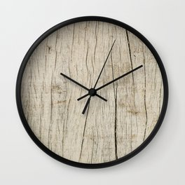 Vintage wood texture Wall Clock