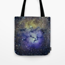 Pansy in Space Tote Bag