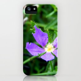 Flower of Purple iPhone Case