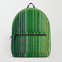 Vintage Japanese Textile Woodcut Backpack