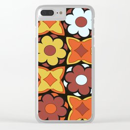 Floral Decadence Clear iPhone Case