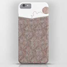 Knitting experience Slim Case iPhone 6 Plus