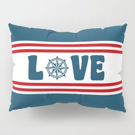 Love compass Pillow Sham