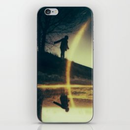 I'm over the moon and underfoot iPhone Skin