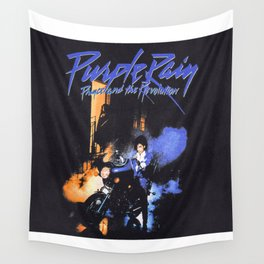 prince purple Wall Tapestry